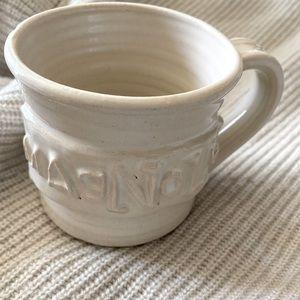 Magnolia handmade mug